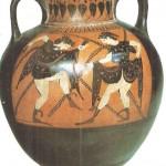 Чернофигурная амфора. 540-е гг. до н.э. Греция