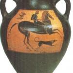 Чернофигурная амфора. 550-е гг. эо н.э. Греция