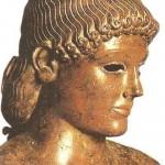 Так называемый Апполон из Пьомбино. Бронза. Около 475 г. до н.э.