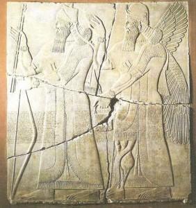 Рельеф с Ашшунасирапалом II