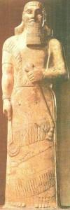 Статуя Ашшурнасирапала II