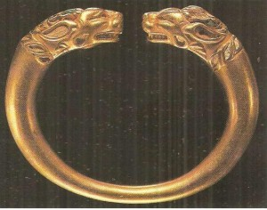 Золотой браслет. Афганистан. 2-1 века до н.э.