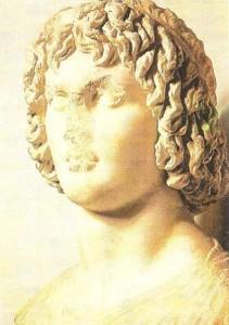 Бюст юноши. 340 г. до н.э. Древняя Греция