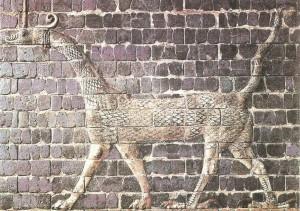Дракон сирруш. Декор ворот богини Иштар
