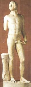 Так называемый Эрот Соранцо. Римская копия 5 век до н.э.