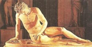 Умирающий галл (галат). Римская копия 3 век до н.э.
