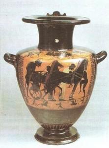 Чернофигурная гидрия. 530-е гг. до н.э.