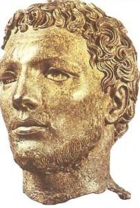 Голова неизвестного мужчины. Бронза. Ранний эллинизм