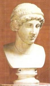 Голова девушки. Римская копия. 5 век до н.э.