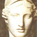 Голова Афины. Римская копия. 5 век до н.э.