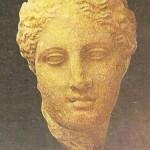 Голова богини Гигиейи. Середина 4 век до н.э.