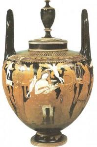 Краснофигурная кальпида. 4 века до н.э.