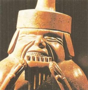 Фигурная керамика. Культура мочики. Перу. 1 тыс.