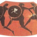 Чернофигурный килик. 4 век до н.э.