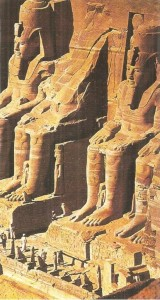 Скальный храм в Абу-Симбеле