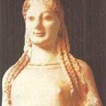 Кора в пеплосе. 540 г. до н.э.