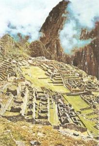 Инкская крепость Мачу-Пикчу.горное Перу. 13-15 века