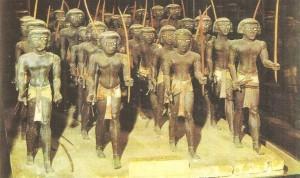Нубийские воины