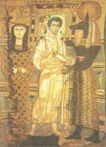 Погребальная пелена. Древний Египет.