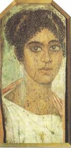 Портрет женщины. Фаюм. 2 век н.э.