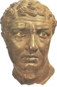 Портрет мужчины из палестры на о-ве Делос. Бронза. 2 век до н.э.