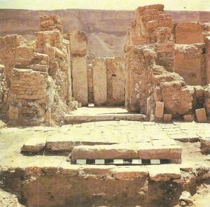 Городище Рейбун. Раскопки храма