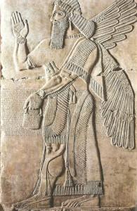 Рельеф из дворца в Дур-Шаррукине