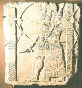 Рельеф из дворца Тиглапаласара III