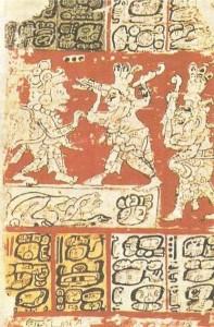 Дрезденская иероглифическая рукопись. Культура майя. 12 век