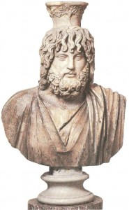 Бюст Сараписа. Римская копия 4 век до н.э.