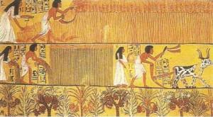 Роспись в гробнице Сеннеджен