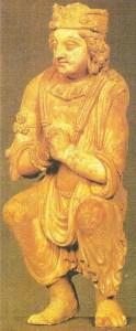 Статуэтка полящегося. Хадда. Афганистан. 5 век н.э.