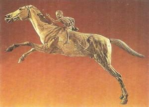 Мальчик на лошади. Бронзовая статуэтка из Артемисия. 2 век до н.э.