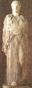 Статуя пеплофоры. Римская копия. 5 век до н.э.