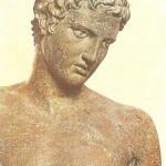 Статуя мальчика. Бронза. 330 г. до н.э.