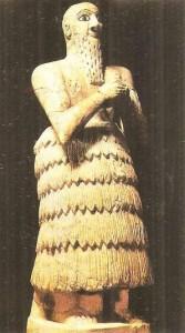 Статуя царя, царство Мари, Месопотамия