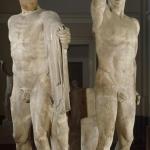 Тираноубийцы Гармодий и Аристогитон. Римская копия с оригинала 5 века до н.э.