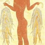 Юноша с рыбами. Фреска с о-ва Тира. 16 век до н.э.