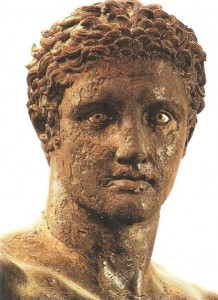 Юноша из Антикиферы. Бронза. 340 г. до н.э.