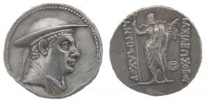 Монета Антимаха I. Индо-греки