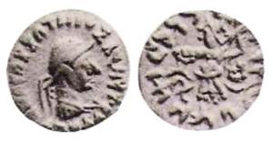 Монета Аполлофана. Индо-греки