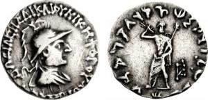 Монета Архебия. Индо-греки