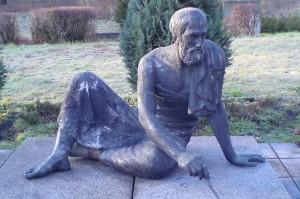 Бронзовая статуя Архимеда