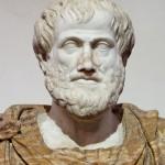 Бюст Аристотеля.