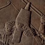 Ашшурбанипал на колеснице