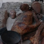 Погребение. Культура Бадари (Египет)