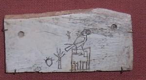 Ярлык с именем фараона I династии Хор Аха
