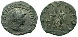 Монета Диомеда. Индо-греки