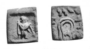 Монета Дионисия. Индо-греки