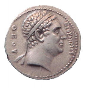 Тетродрахма Евтедема I. Греко-Бактрия